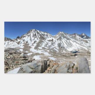 Adesivo Retangular Panorama da passagem de Muir de cima - da fuga de