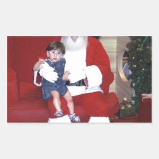 Adesivo Retangular Papai_noel_-_santa_claus_