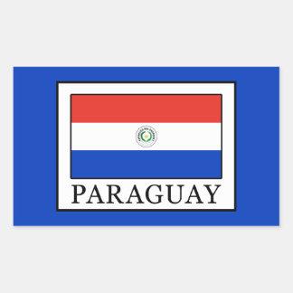 Adesivo Retangular Paraguai