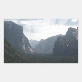 Adesivo Retangular Parque nacional de Yosemite