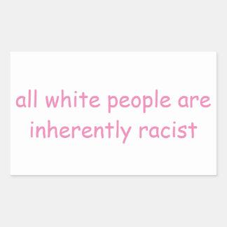 Adesivo Retangular Pessoas brancas