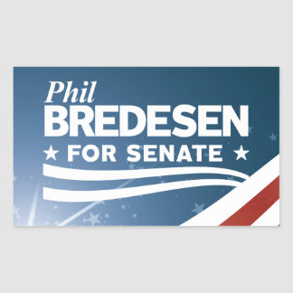 Adesivo Retangular Phil Bredesen