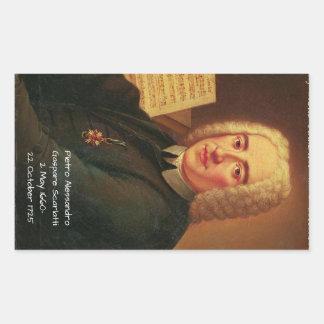 Adesivo Retangular Pietro Alessandro Gaspare Scarlatti