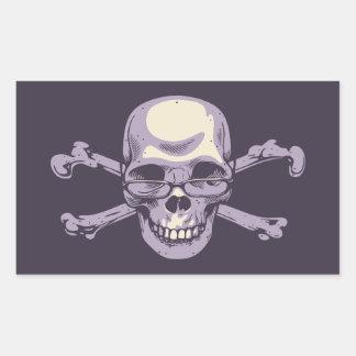 Adesivo Retangular Pirata Nerdy