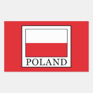 Adesivo Retangular Polônia