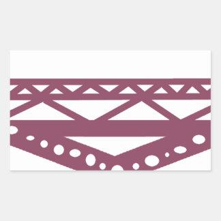 Adesivo Retangular Ponte