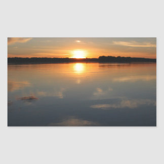Adesivo Retangular Por do sol de Missouri
