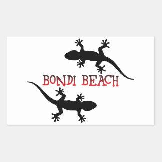 Adesivo Retangular Praia Austrália de Bondi