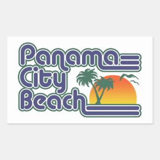 Adesivo Retangular Praia da Cidade do Panamá
