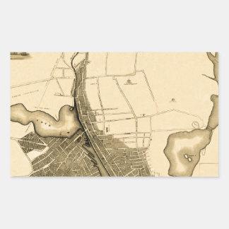 Adesivo Retangular Providência 1823