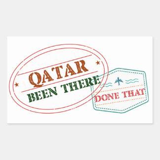 Adesivo Retangular Qatar feito lá isso