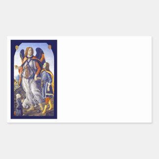 Adesivo Retangular Raphael do santo de San Rafael