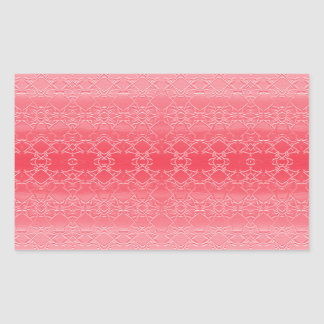 Adesivo Retangular rosa
