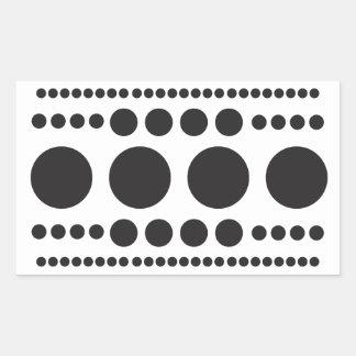 Adesivo Retangular Salto-UM-Ponto