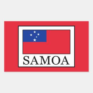 Adesivo Retangular Samoa