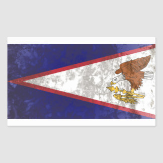 Adesivo Retangular Samoa Americanas