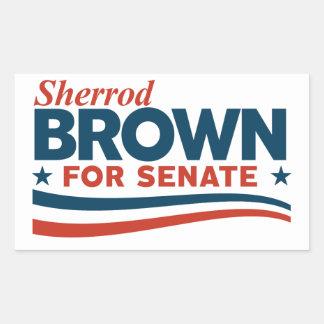 Adesivo Retangular Sherrod Brown