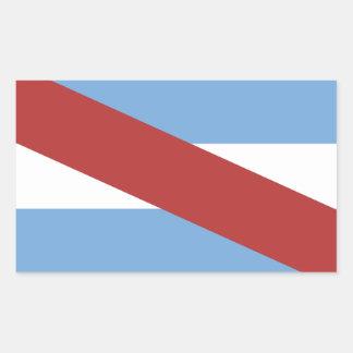 Adesivo Retangular Símbolo da província da região de Argentina da