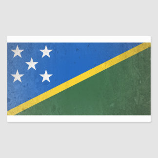Adesivo Retangular Solomon Island