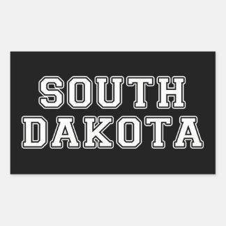 Adesivo Retangular South Dakota