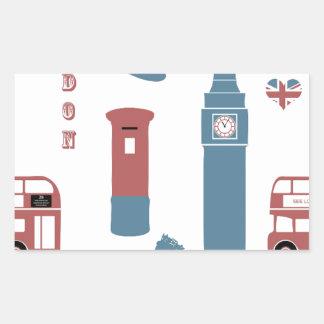 Adesivo Retangular Special de Londres