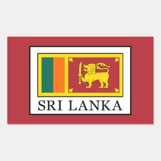 Adesivo Retangular Sri Lanka