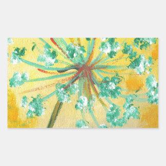 Adesivo Retangular starburst