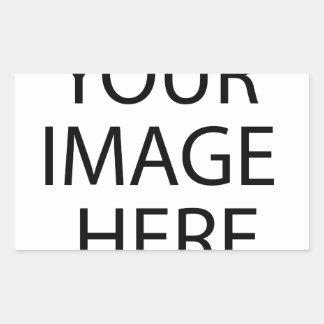 Adesivo Retangular Sua imagem aqui