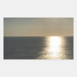 Adesivo Retangular Sun na água