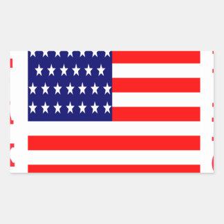 Adesivo Retangular T-shirt das nações
