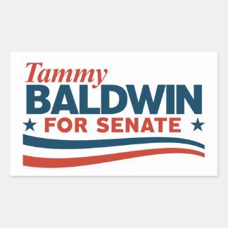 Adesivo Retangular Tammy Baldwin