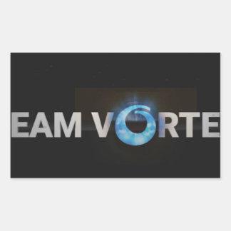 Adesivo Retangular TeamVortex