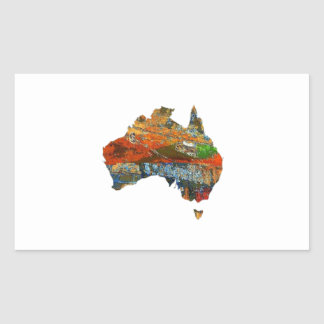 Adesivo Retangular Tempo australiano