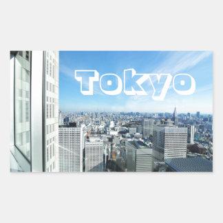 Adesivo Retangular Tokyo, Japão
