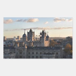 Adesivo Retangular Torre de Londres
