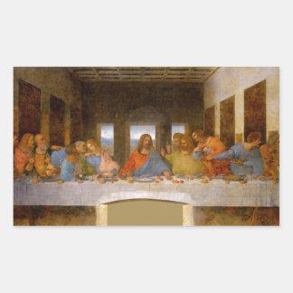 Adesivo Retangular Última ceia da Vinci
