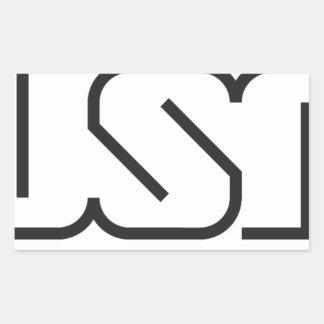 Adesivo Retangular USP (logotipo)