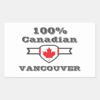 Adesivo Retangular Vancôver 100%