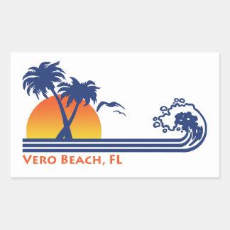 Adesivo Retangular Vero Beach Florida
