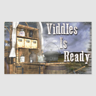 Adesivo Retangular Viddles está pronto