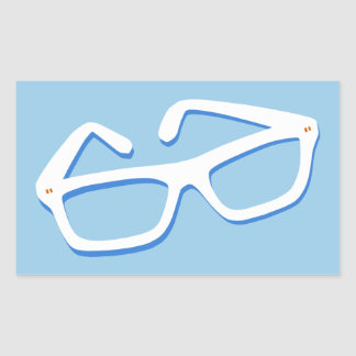 Adesivo Retangular Vidros legal do nerd