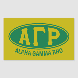Adesivo Retangular Vintage alfa do ró | da gama