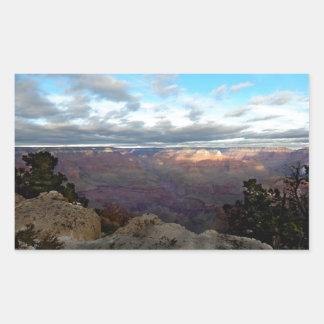 Adesivo Retangular Vista panorâmica do Grand Canyon