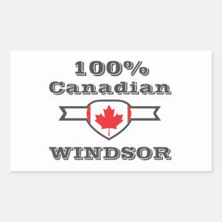 Adesivo Retangular Windsor 100%