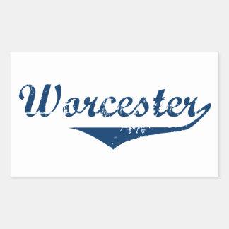 Adesivo Retangular Worcester