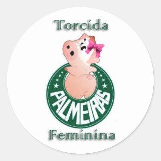 ADESIVO TORCIDA FEMININA PALMEIRAS
