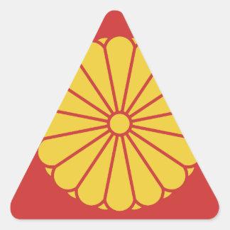 Adesivo Triangular - 日本 - 日本人 japonês