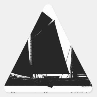 Adesivo Triangular 1884 barca de Boomie - fernandes tony