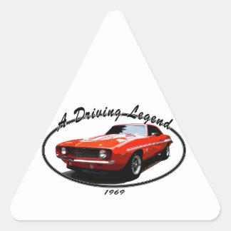 Adesivo Triangular 1969_camaro_yenko_orange