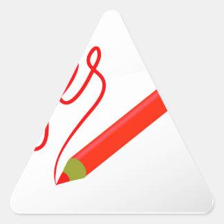 Adesivo Triangular 72Red Pencil_rasterized